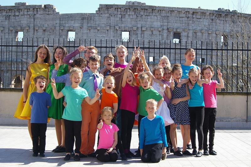 «Остров счастья» показал римлянам «Ретро с кумирами»