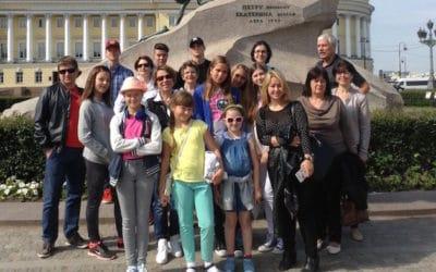 Сокровища России и русского языка для школьников из Швейцарии