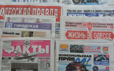 О чём говорят и пишут в Одессе?