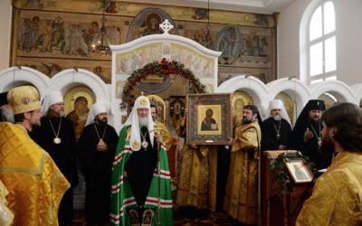 Патриарх Кирилл говорил в Цюрихе о мучениках и чествовал храмостроителей