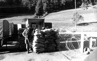 Письма из швейцарской армии (2004-2005). Арест