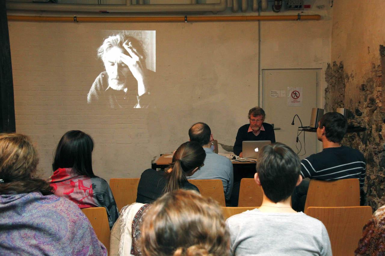 Вечер, посвященный 80-летию Геннадия Айги в Литературном клубе в Цюрихе, 2014 год. (Фото Литературный клуб в Цюрихе).