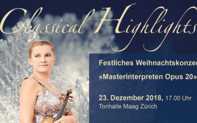 «Classical Highlights». Рождественский концерт с Марией Солозобовой