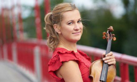 Подвижные темпы скрипачки Марии Солозобовой