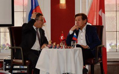 Посол Швейцарии в Москве Ив Россье. Россия меж властью и казнью