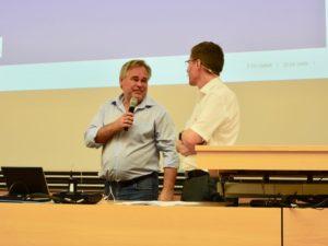 На лекции в ETH Zürich Евгений Касперский с удовольствием шутил. (schwingen.net)