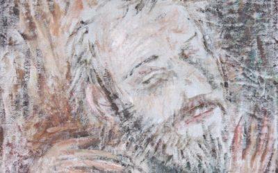 Николай Эстис. Автопортрет, фрагмет