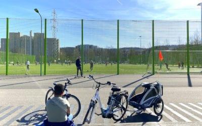 В Швейцарии для людей доступны спортивные площадки и места отдыха под открытым небом. Цюрих, 28 марта 2021 г. (© schwingen.net)